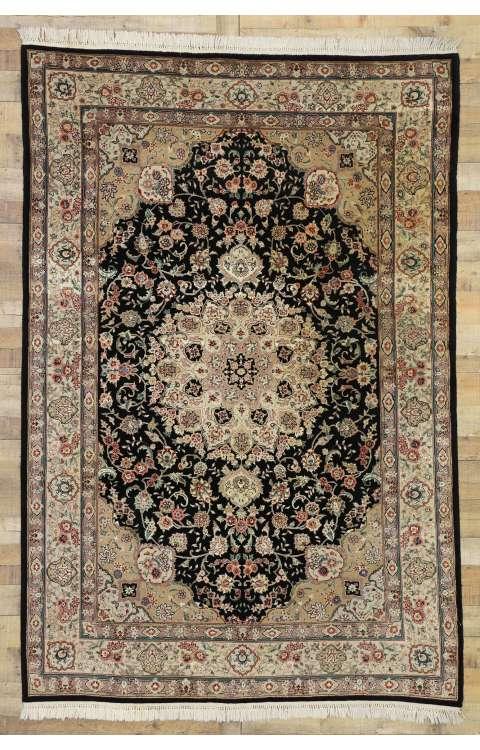 6 x 9 Vintage Tabriz Rug 77329