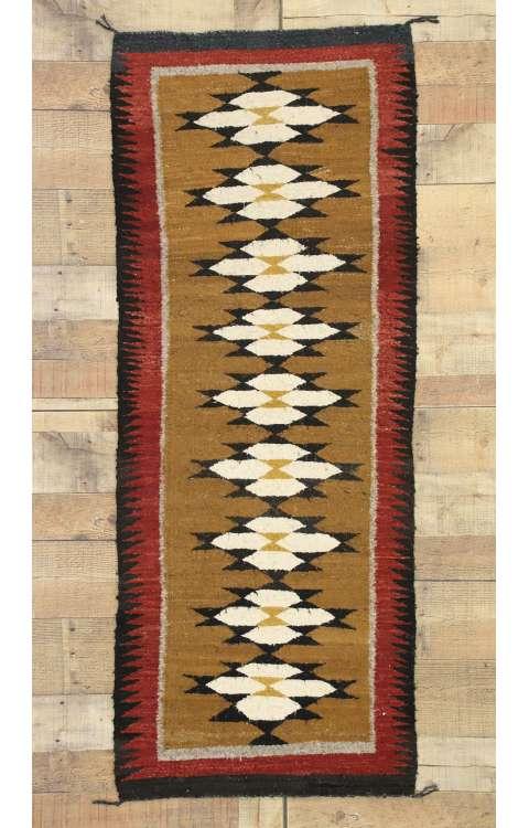 2 x 5 Vintage Navajo Kilim Rug 77341