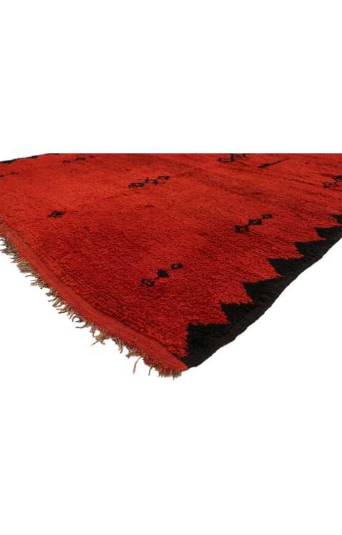 5 x 11 Vintage Moroccan Rug 20896