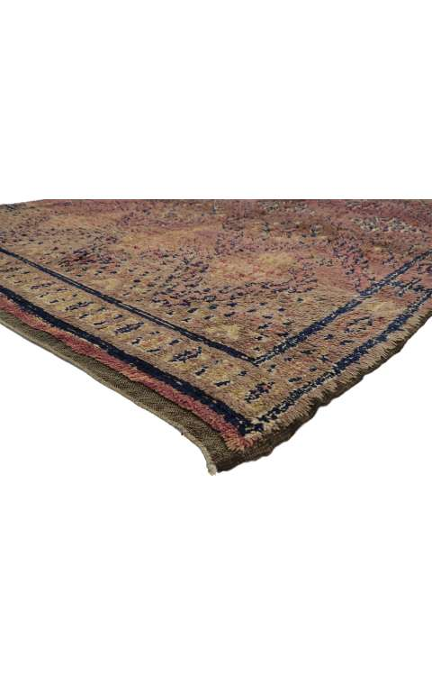 7 x 11 Vintage Moroccan Rug 20899