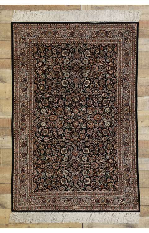 4 x 6 Vintage Tabriz Rug 77345
