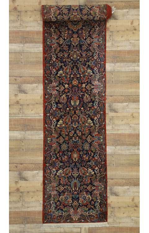 3 x 18 Antique Mashad Rug 77350