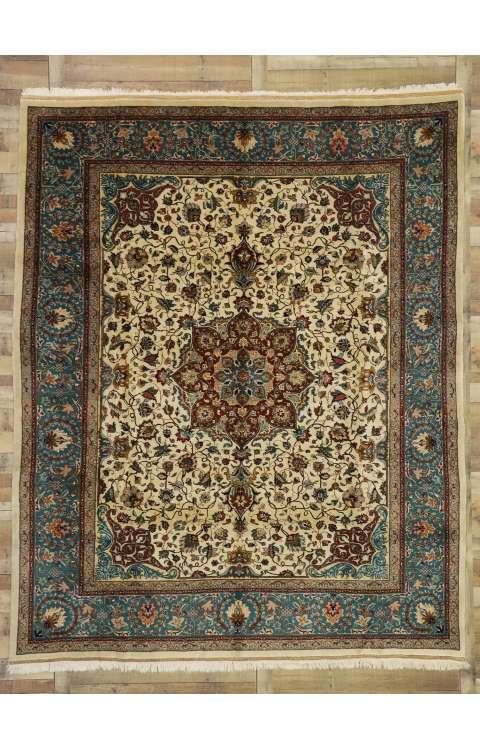 9 x 11 Vintage Tabriz Rug 77352