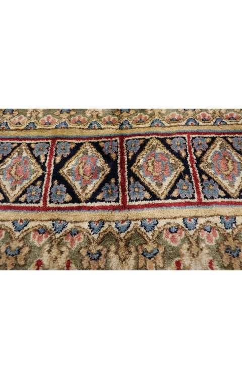 8 x 8 Vintage Kerman Rug 77358