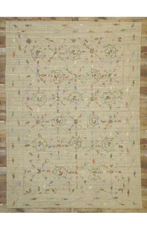 6 x 9 Vintage Kilim Rug 80112