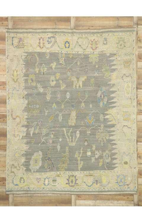 8 x 11 Oushak Rug 52527