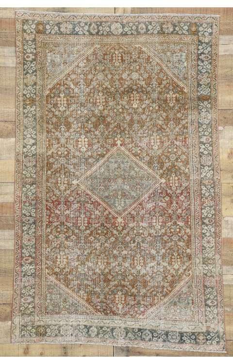 4 x 7 Antique Mahal Rug 52565