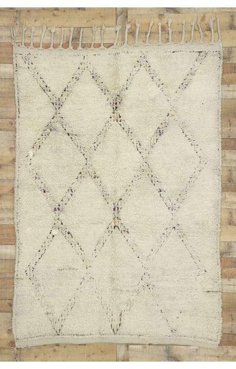 5 x 7 Vintage Moroccan Rug 20270