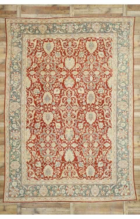 10 x 14 Antique Mahal Rug 52680
