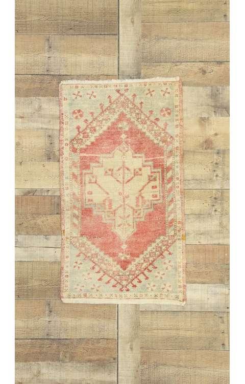2 x 3 Vintage Oushak Rug 52724