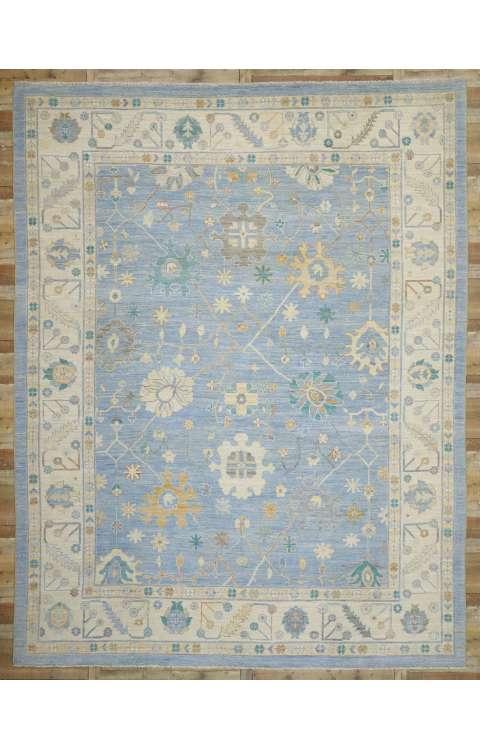 12 x 15 Oushak Rug 80555