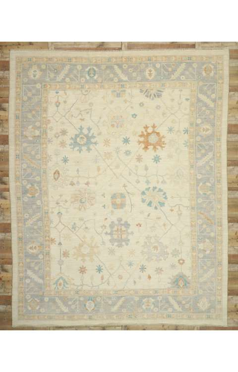 12 x 15 Oushak Rug 80557