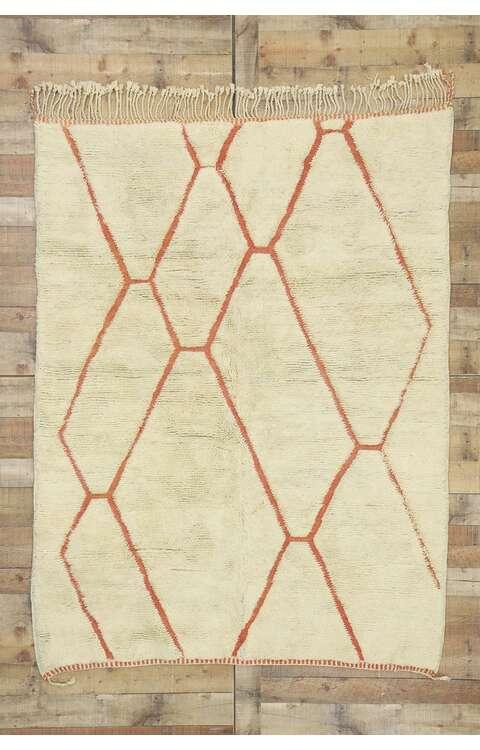 5 x 7 Contemporary Moroccan Rug 21035
