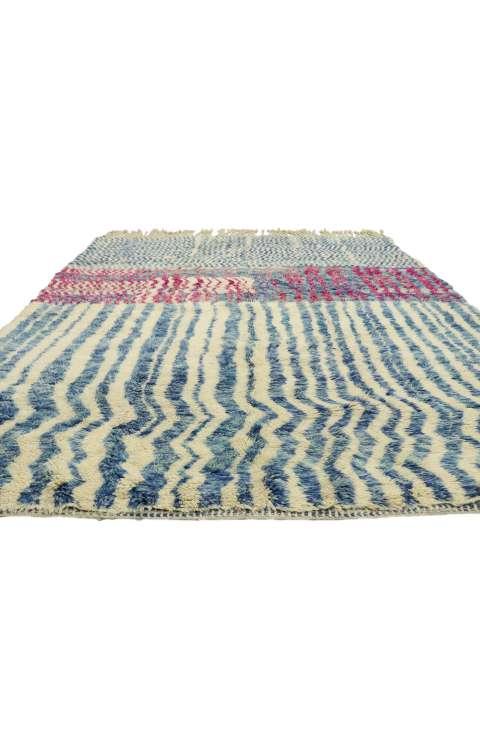 7 x 10 Vintage Moroccan Rug 21044