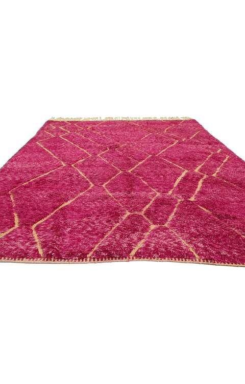 7 x 10 Vintage Moroccan Rug 21046