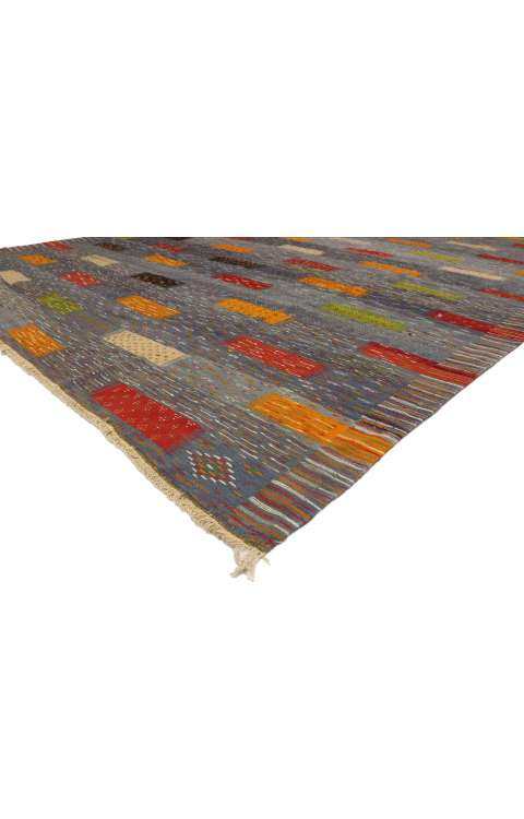 10 x 14 Contemporary Kilim Rug 20911