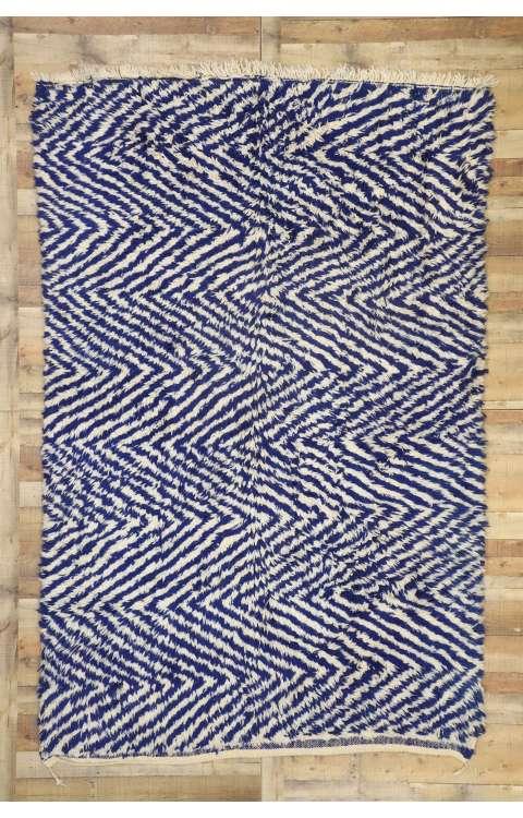 7 x 10 Vintage Moroccan Rug 20974