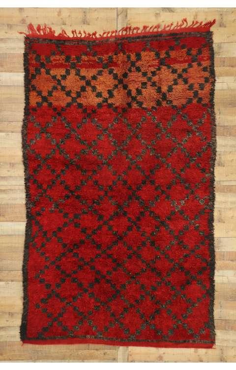 6 x 9 Vintage Moroccan Rug 20975