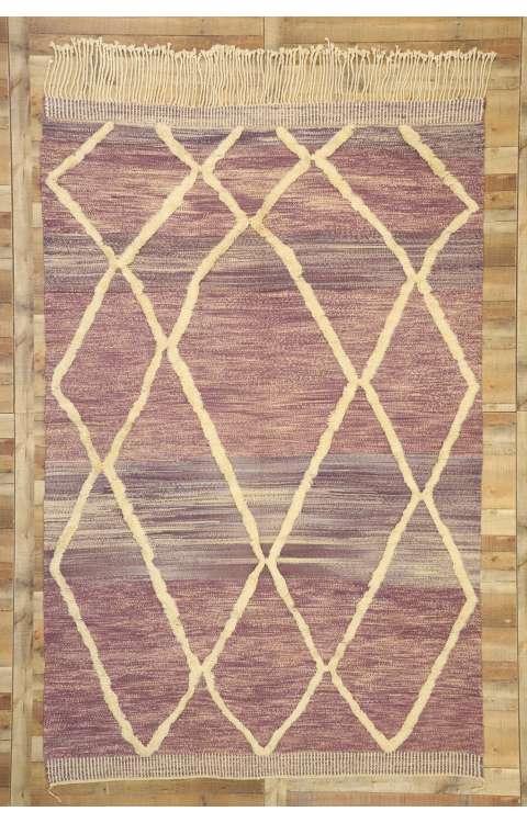 7 x 11 Contemporary Moroccan Rug 21059