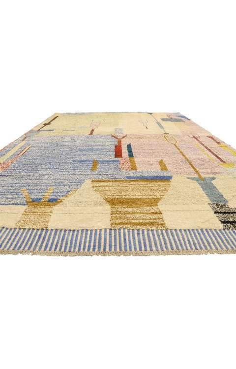 10 x 14 Contemporary Moroccan Rug 80564
