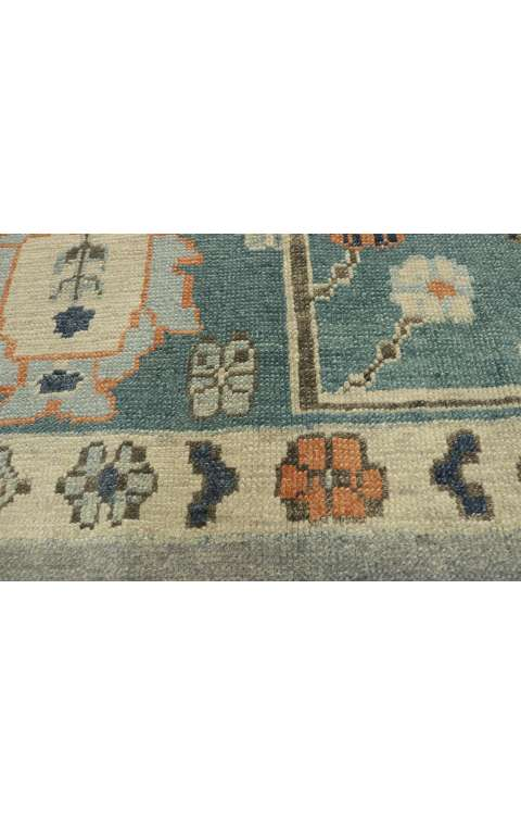 12 x 16 Contemporary Turkish Oushak Rug 52812
