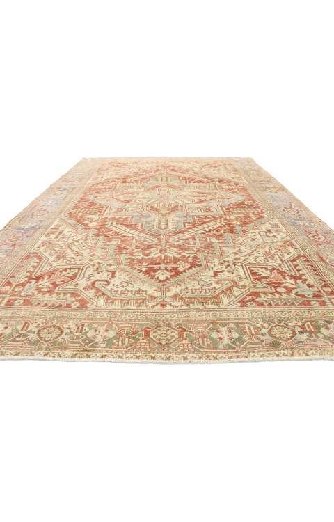 8 x 11 Antique Persian Heriz Rug 52854