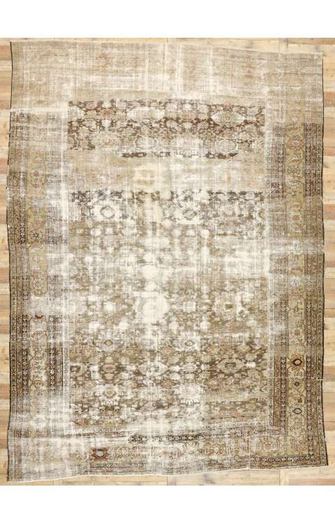 11 x 15 Antique Persian Sultanabad Rug 73021