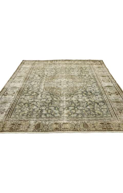 5 x 6 Antique Tabriz Rug 51531