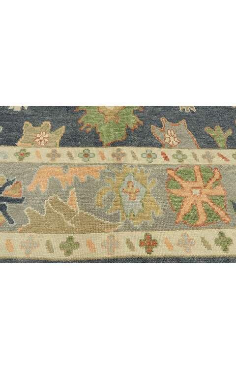 9 x 12 Contemporary Turkish Oushak Rug 52862