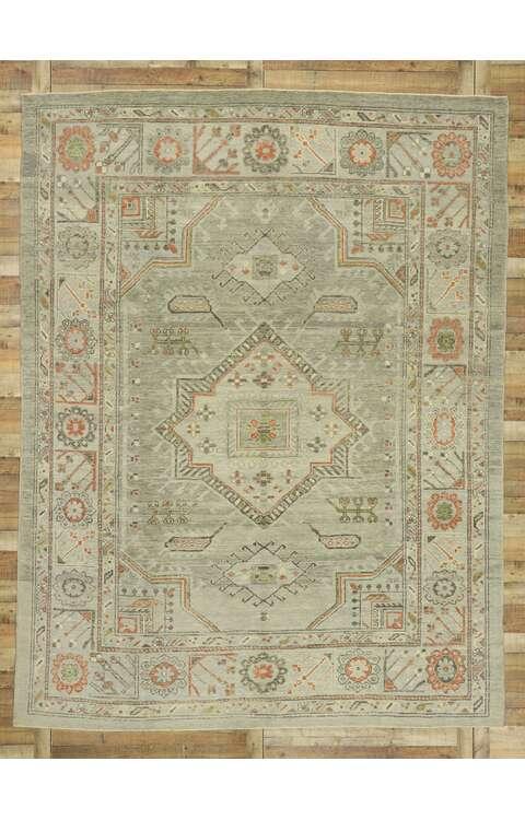 9 x 12 Turkish Oushak Rug 52870