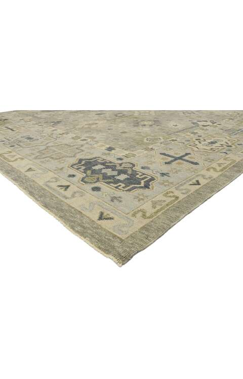10 x 15 Contemporary Turkish Oushak Rug 52890