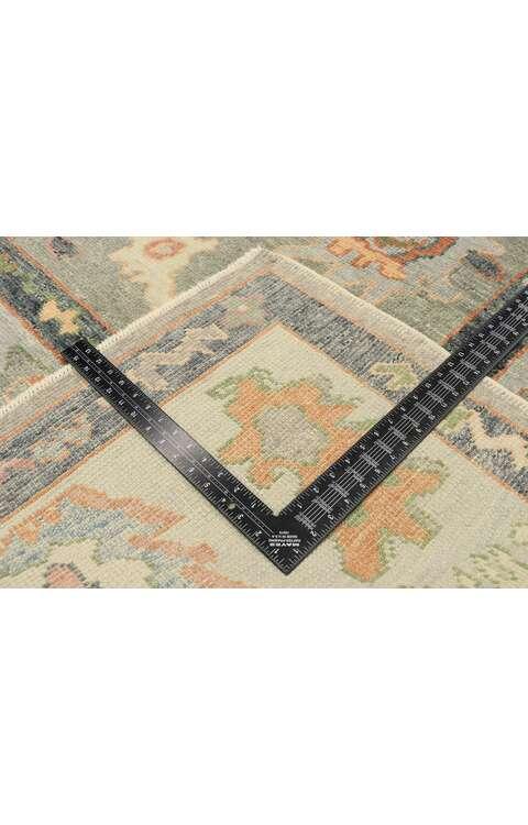 8 x 11 Contemporary Turkish Oushak Rug 52897