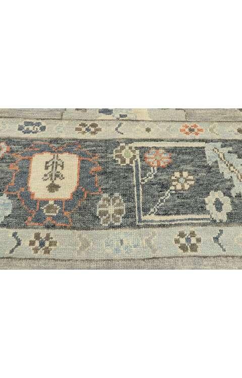 10 x 14 Contemporary Turkish Oushak Rug 52902