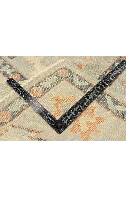 8 x 10 Contemporary Turkish Oushak Rug 52907