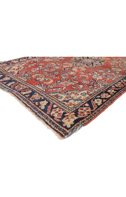 4 x 6 Antique Persian Mahal Rug 76866