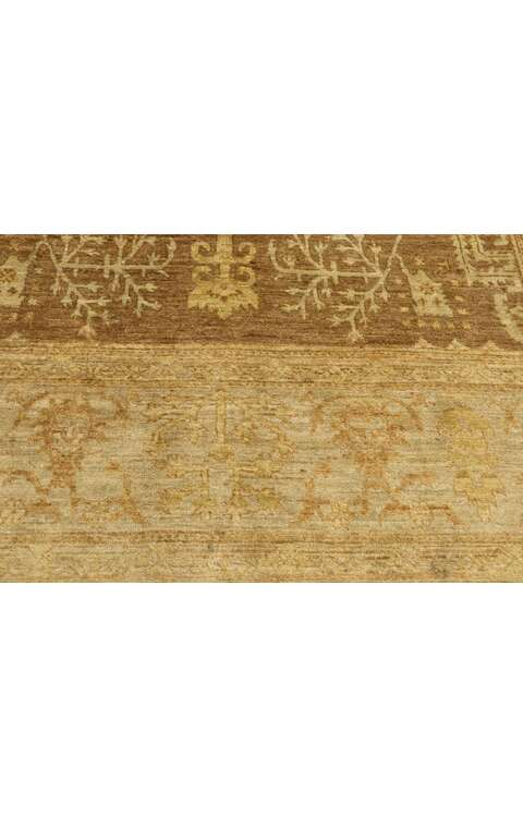 6 x 9 Traditional Indian Rug 77422