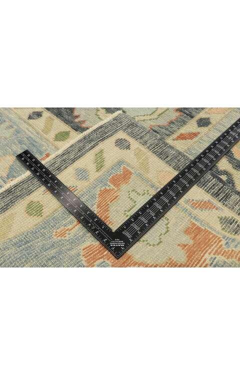 8 x 11 Contemporary Turkish Oushak Rug 52910