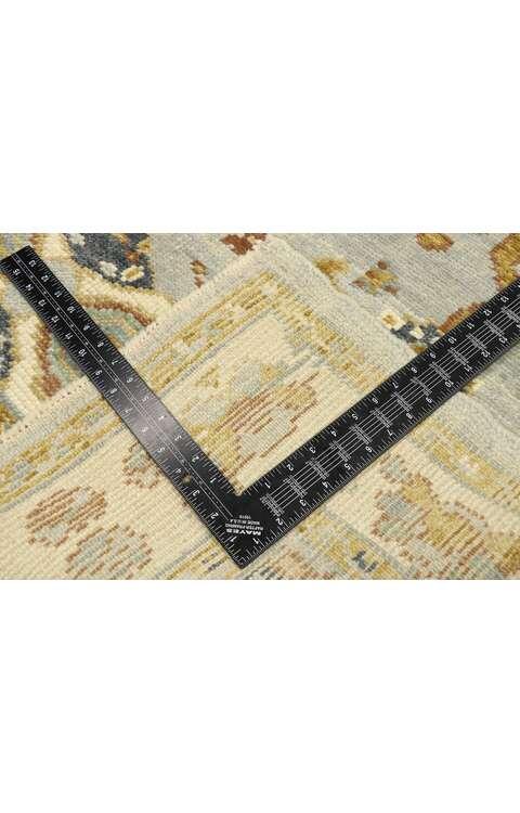 4 x 6 Contemporary Turkish Oushak Rug 52950