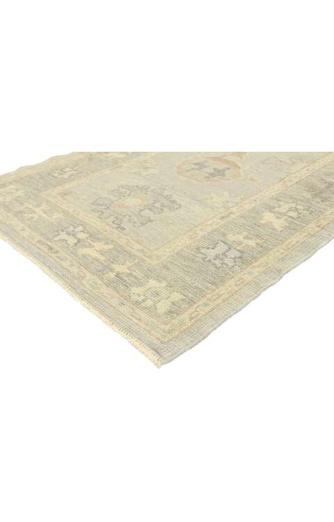 3 x 10 Contemporary Turkish Oushak Rug 52951