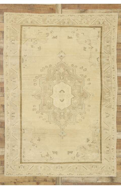 6 x 9 Turkish Oushak Rug 52960
