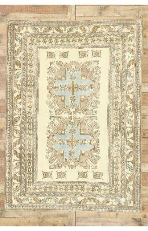 6 x 8 Turkish Oushak Rug 52962