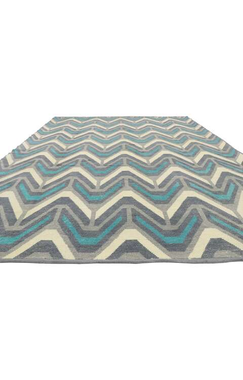 9 x 13 Contemporary Moroccan Rug 52993