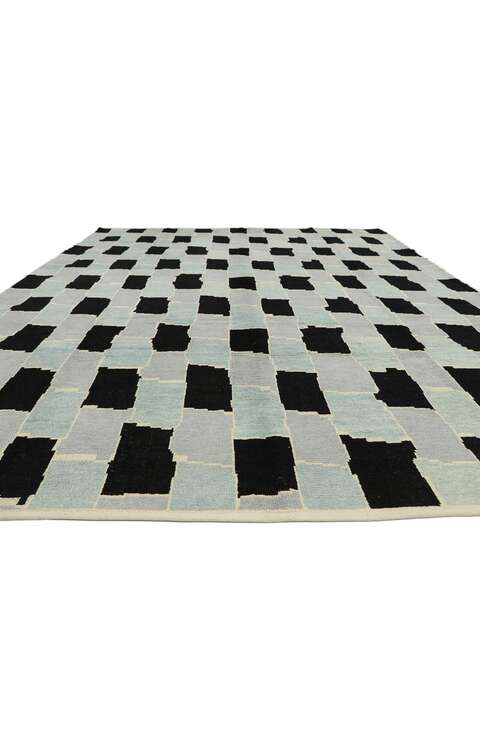 10 x 14 Contemporary Moroccan Rug 52995
