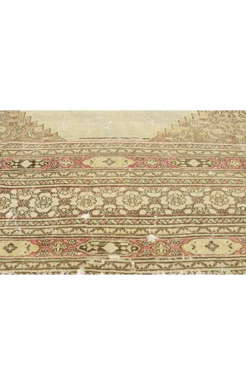 10 x 13 Antique Persian Khorassan Rug 73072