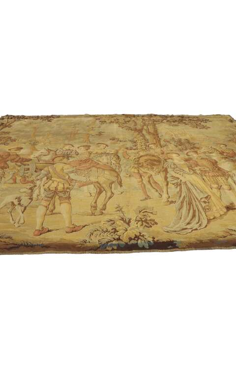 6 x 8 Antique Tapestry Rug 77443
