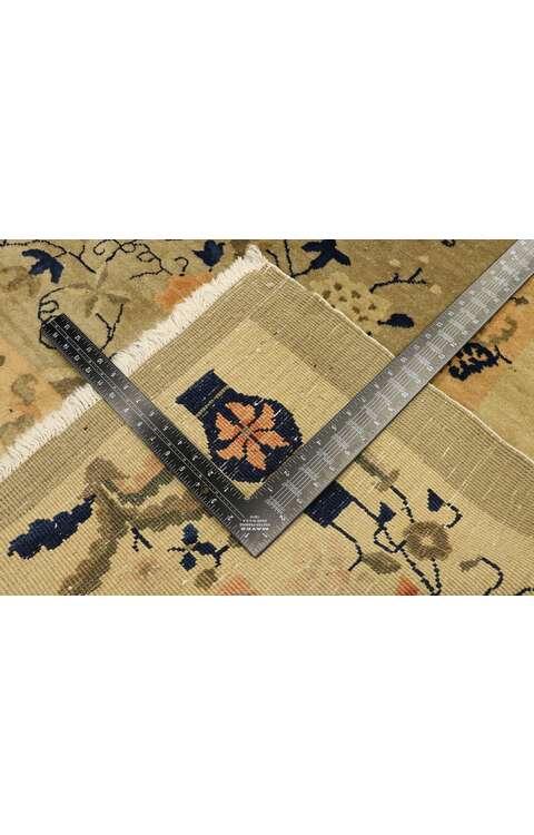 9 x 11 Antique Art Deco Rug 77445