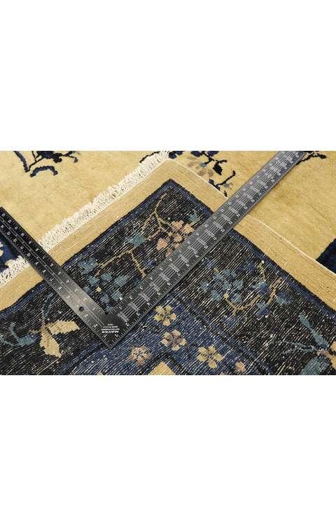 6 x 9 Antique Chinese Peking Rug 77446