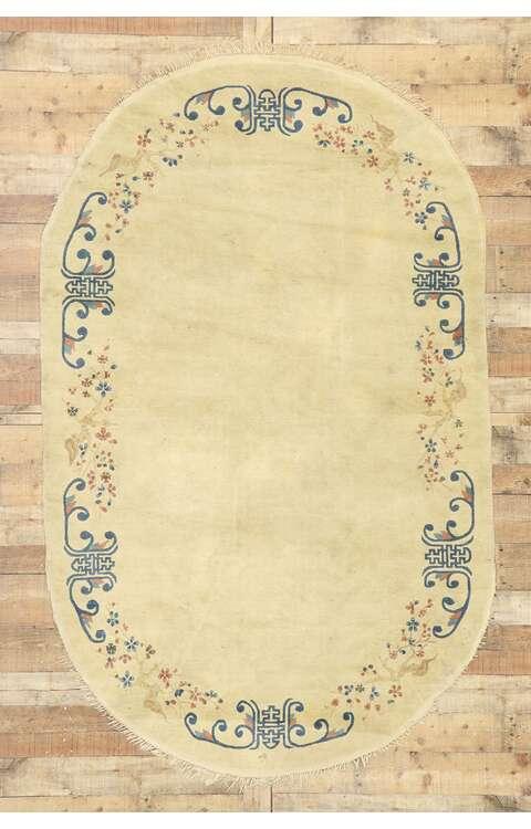 5 x 8 Antique Peking Rug 77451