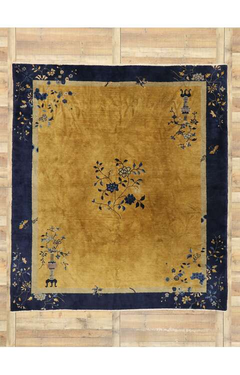 8 x 9 Antique Chinese Rug 77453