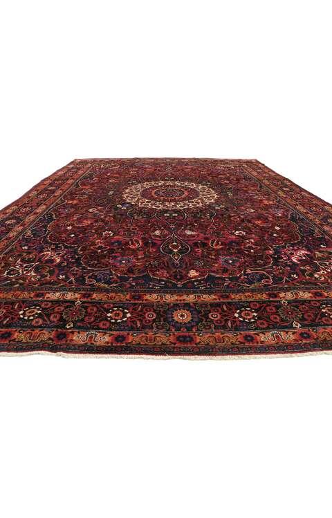 10 x 14 Antique Mashad Rug 75668